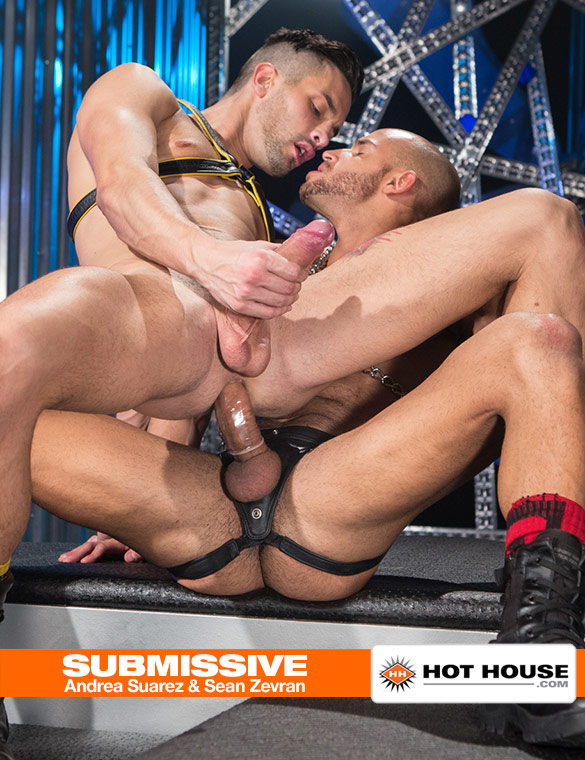 "HotHouse: Sean Zevran and Andrea Suarez flip fuck in ""Submissive"""