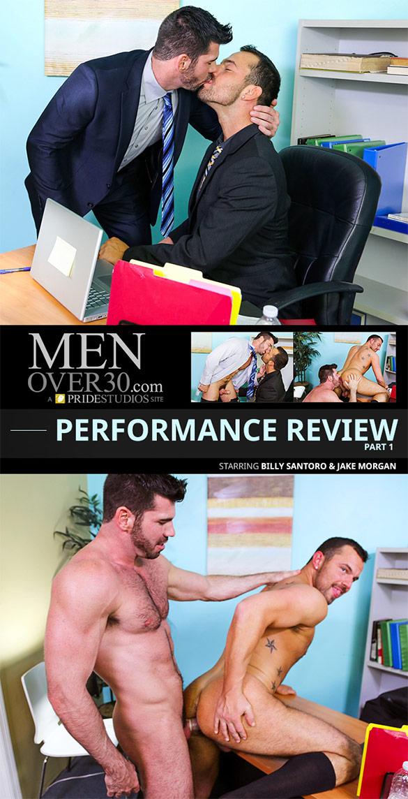 """PrideStudios: Billy Santoro fucks Jake Morgan in """"Performance Review, Part 1"""""""