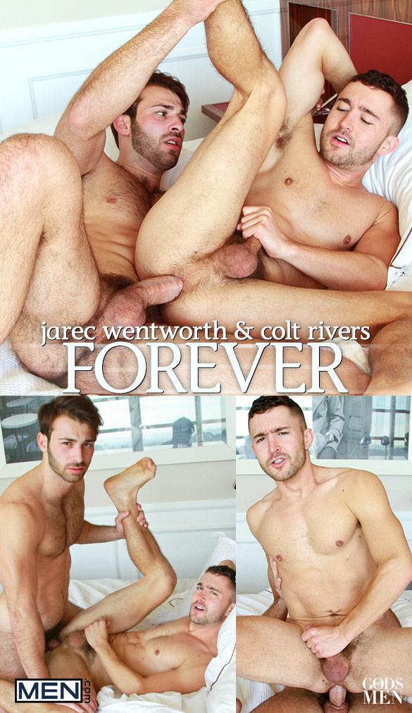 """Men.com: Jarec Wentworth fucks Colt Rivers in """"Forever"""""""
