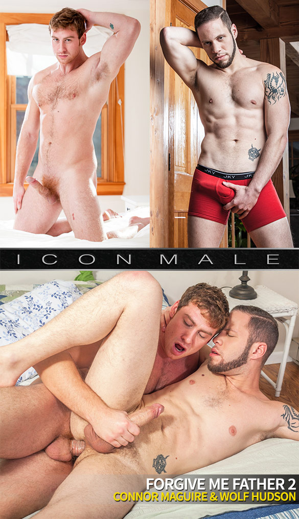 "IconMale: Connor Maguire fucks Wolf Hudson in ""Forgive Me Father 2"""