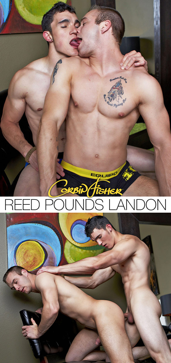 Corbin Fisher: Reed barebacks Landon