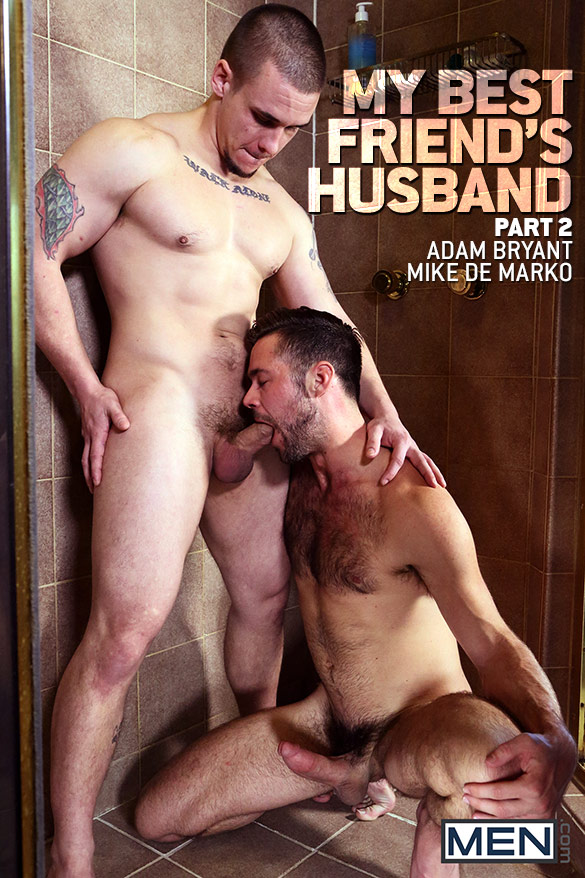 "Men.com: Adam Bryant fucks Mike De Marko in ""My Best Friend's Husband, Part 2"""