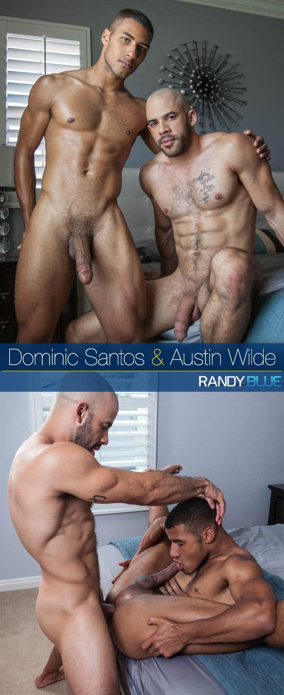 Randy Blue: Austin Wilde bangs Dominic Santos raw