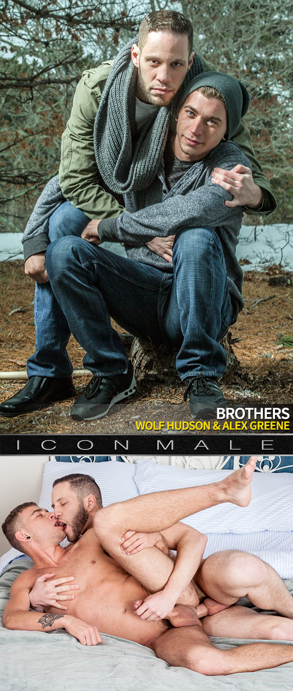 """IconMale: Wolf Hudson and Alex Greene flip fuck in """"Brothers"""""""