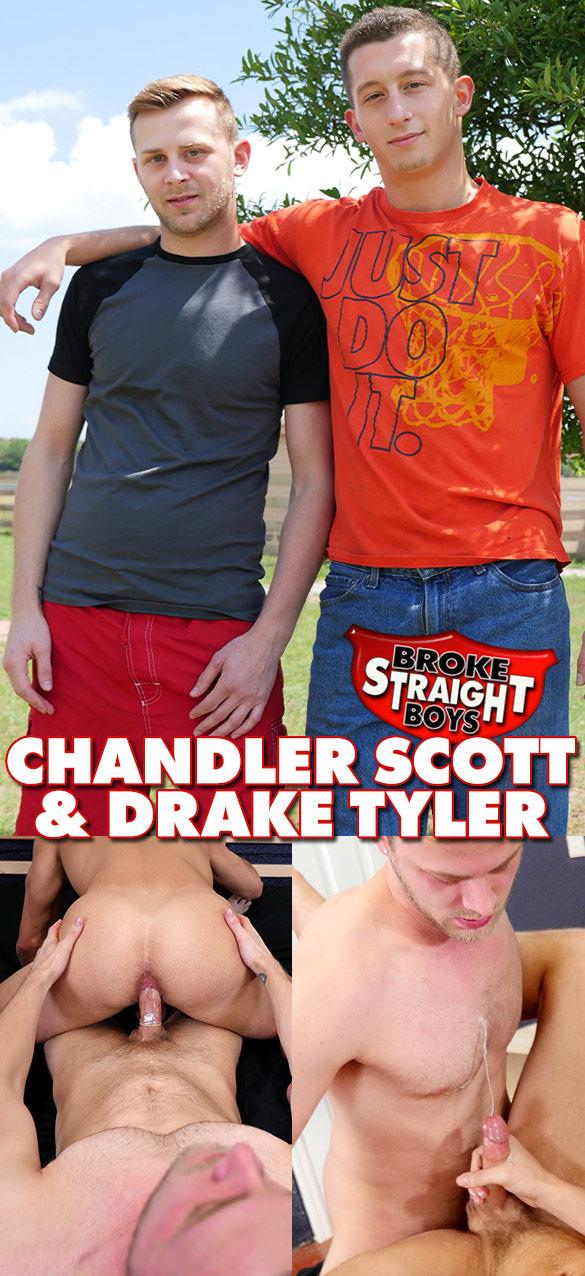 Broke Straight Boys: Chandler Scott fucks Drake Tyler