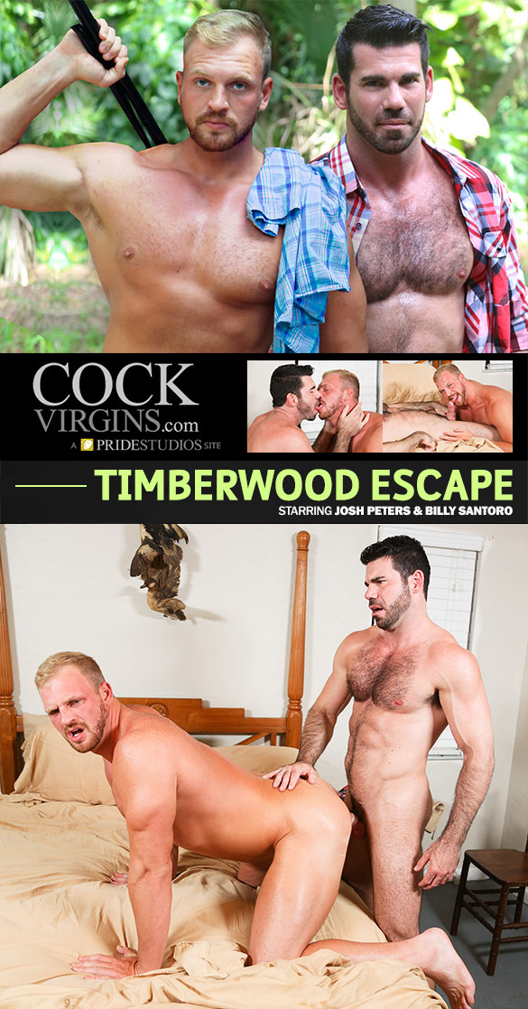 "PrideStudios: Billy Santoro fucks Josh Peters in ""Timberwood Escape"""