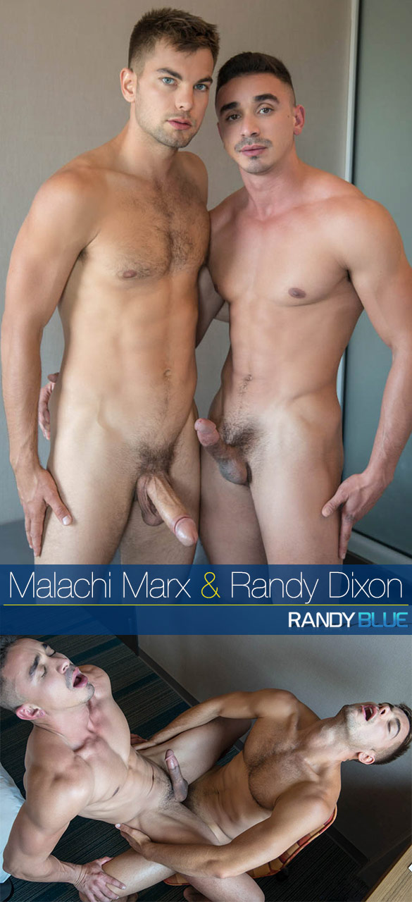 Randy Blue: Malachi Marx cums inside of Randy Dixon