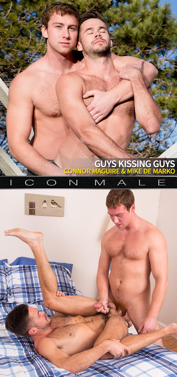 "IconMale: Connor Maguire fucks Mike De Marko in ""Guys Kissing Guys"""