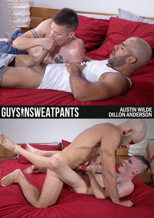 GuysInSweatpants: Austin Wilde creampies Dillon Anderson