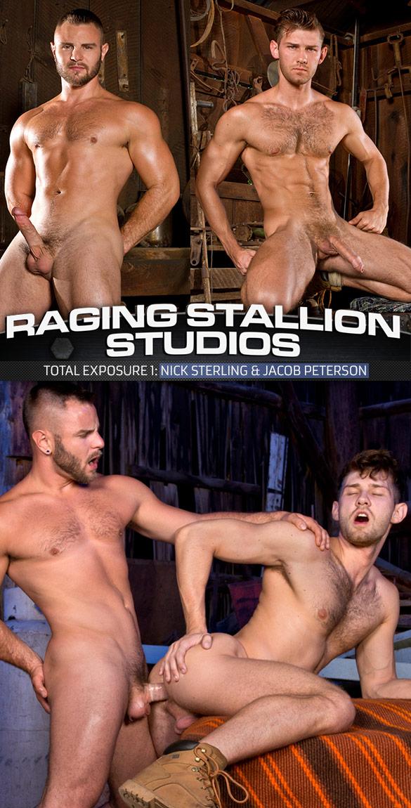"Raging Stallion: Nick Sterling fucks Jacob Peterson in ""Total Exposure 1"""
