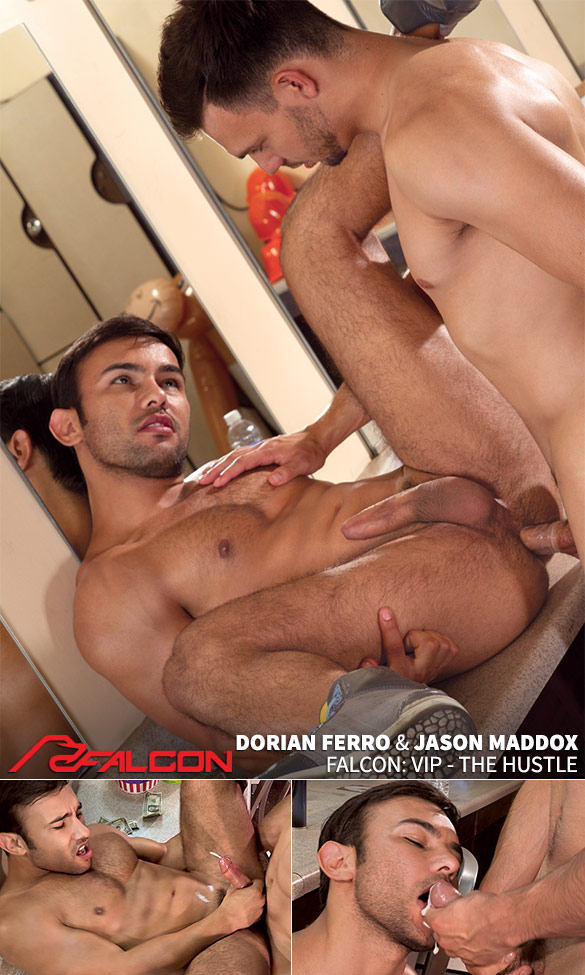 "Falcon Studios: Jason Maddox fucks Dorian Ferro in ""VIP - The Hustle"""