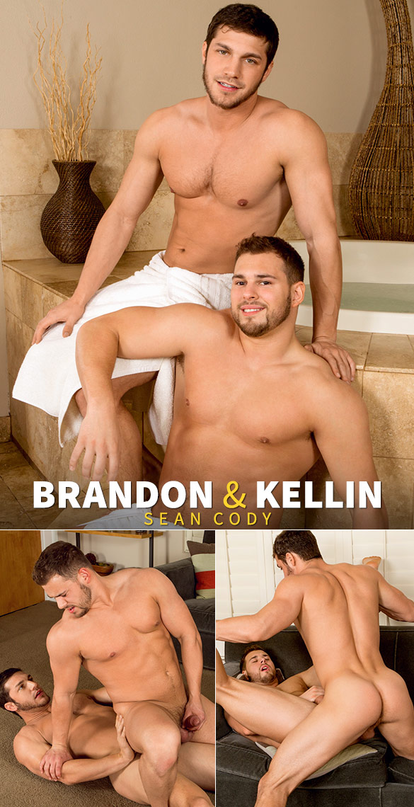 Sean Cody: Brandon pounds Kellin bareback