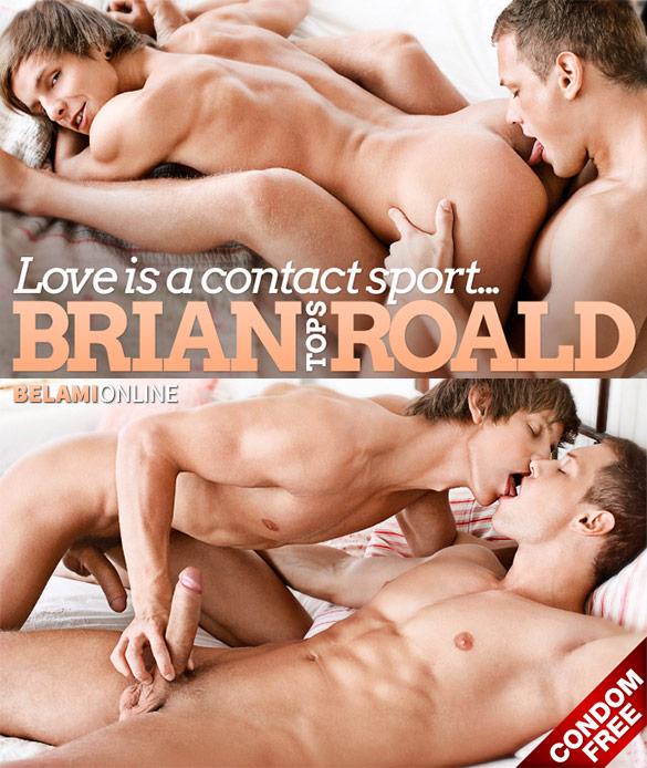 BelAmi: Brian Jovovich barebacks Roald Ekberg