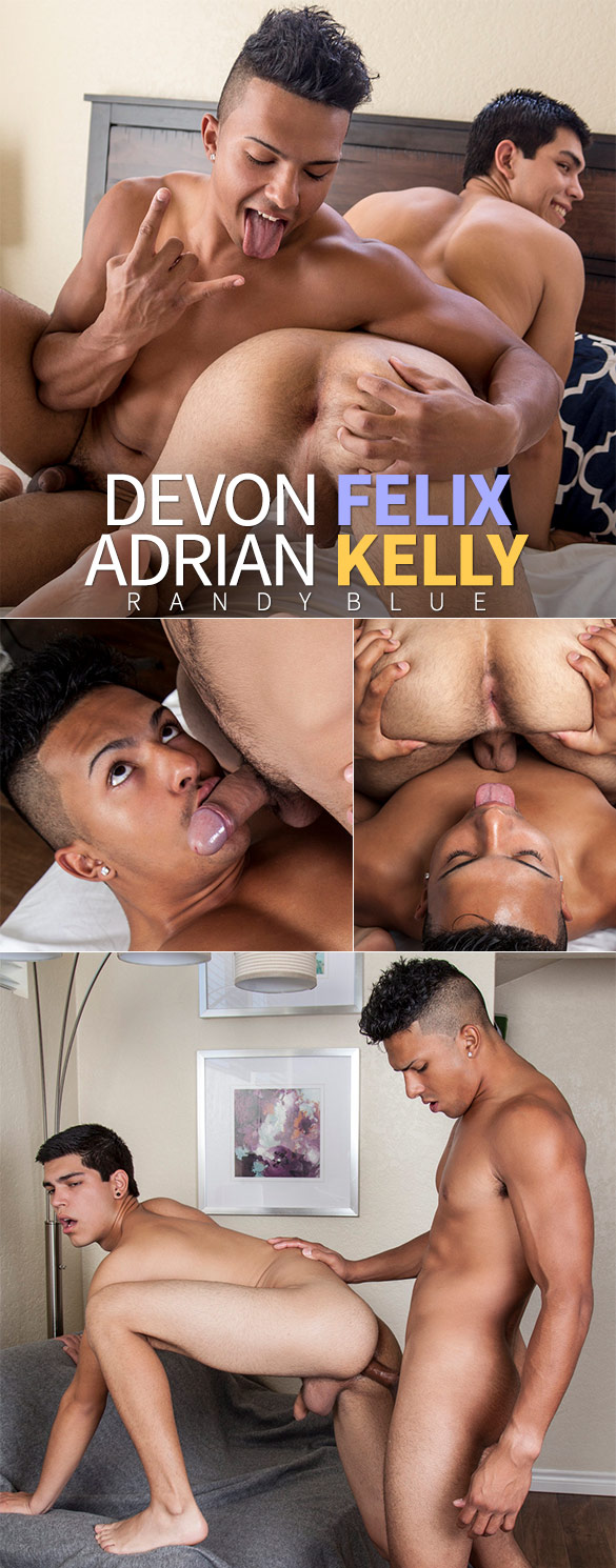 Randy Blue: Devon Felix fucks Adrian Kelly raw