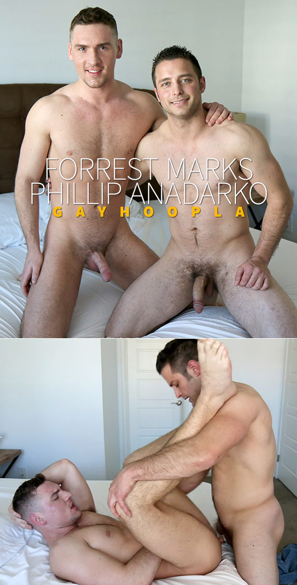 GayHoopla: Newcomer Forrest Marks bottoms for Phillip Anadarko