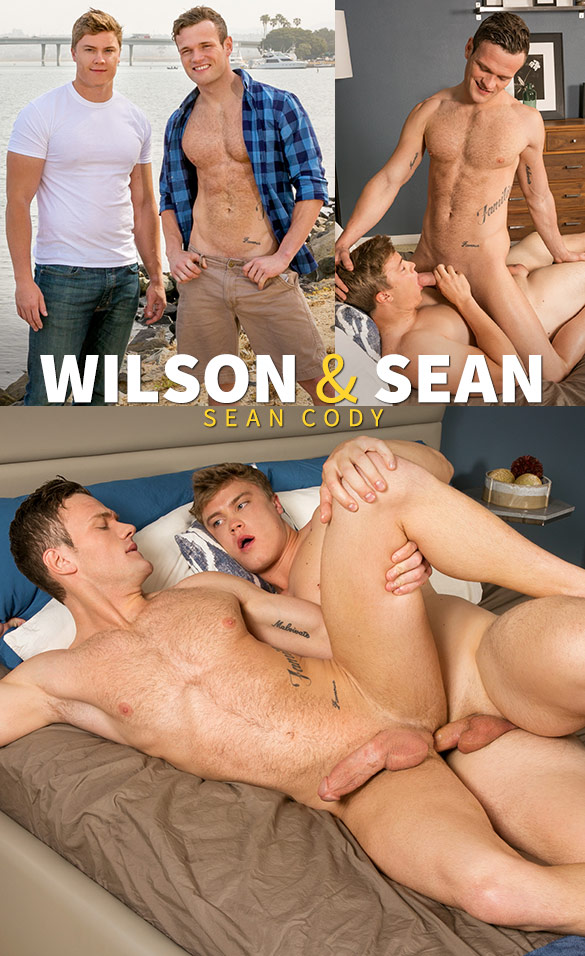 Sean Cody: Wilson fucks Sean bareback