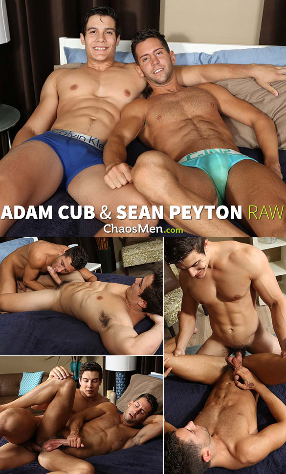 ChaosMen: Adam Cub fucks Sean Peyton raw