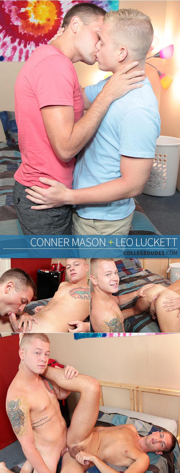 CollegeDudes: Leo Luckett fucks Conner Mason