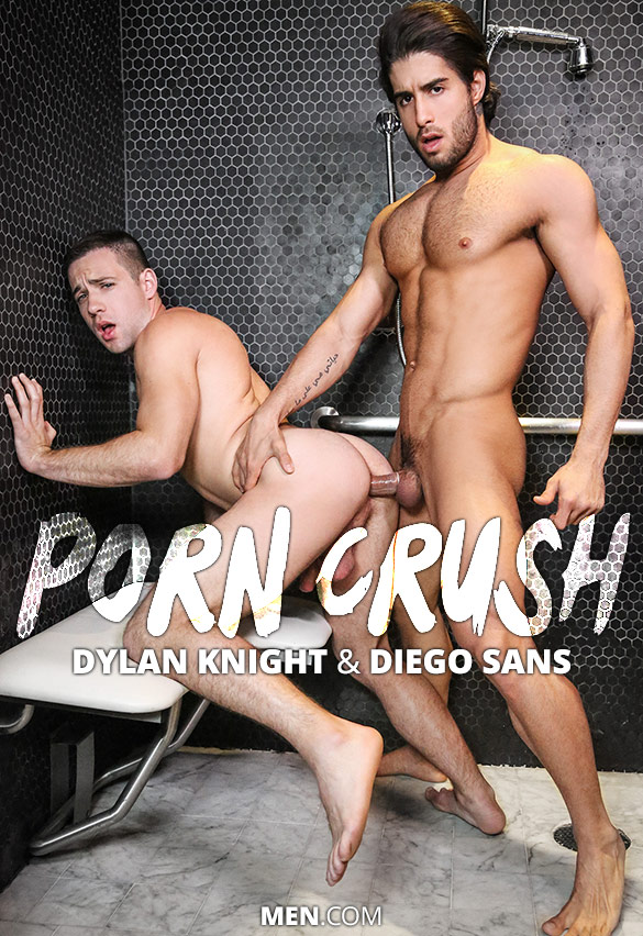 "Men.com: Diego Sans bangs Dylan Knight in ""Porn Crush"""