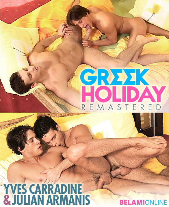 "Bel Ami: Julian Armanis fucks Yves Carradine in ""Greek Holiday – Remastered"""