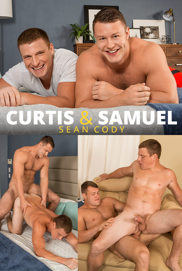 Sean Cody: Newcomer Samuel fucks Curtis raw