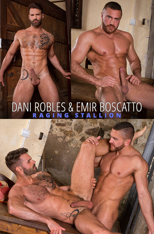"Raging Stallion: Dani Robles bottoms for Emir Boscatto in ""Hung Country"""
