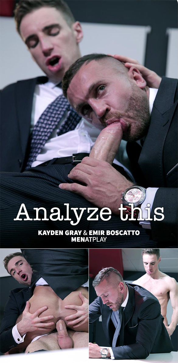 "MenAtPlay: Emir Boscatto bottoms for Kayden Gray in ""Analyze This"""