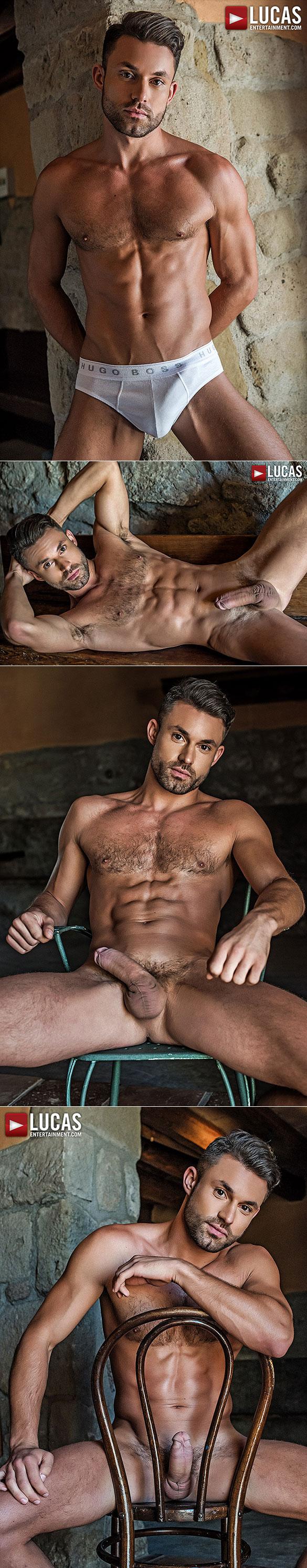 Handsome hunks drills sexy black babe maya bijou from behind 7