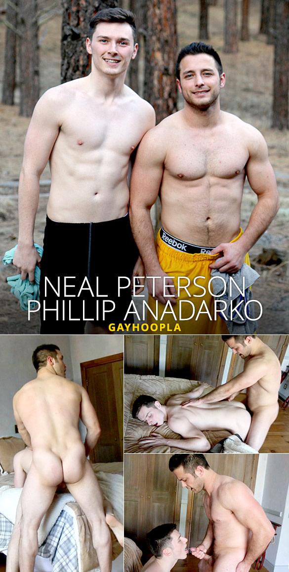 GayHoopla: Phillip Anadarko fucks Neal Peterson