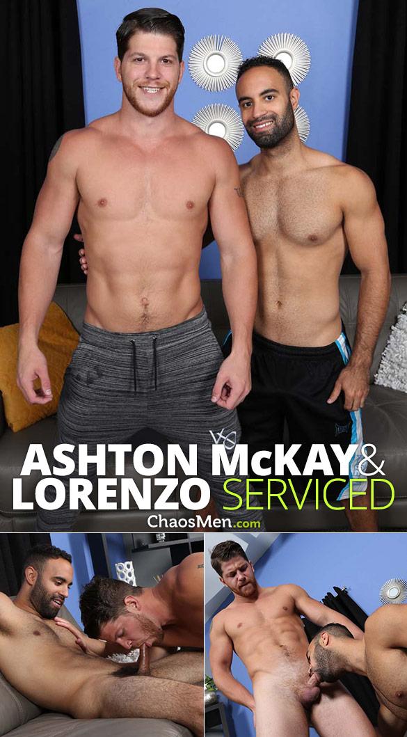 ChaosMen: Ashton McKay and Lorenzo blow each other