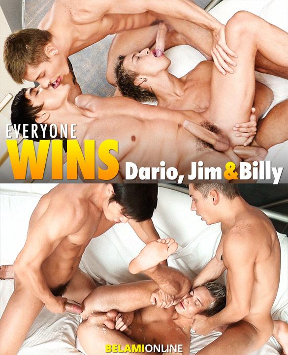 BelAmi: Dario Dolce, Billy Cotton and Jim Kerouac's raw threeway flip fuck
