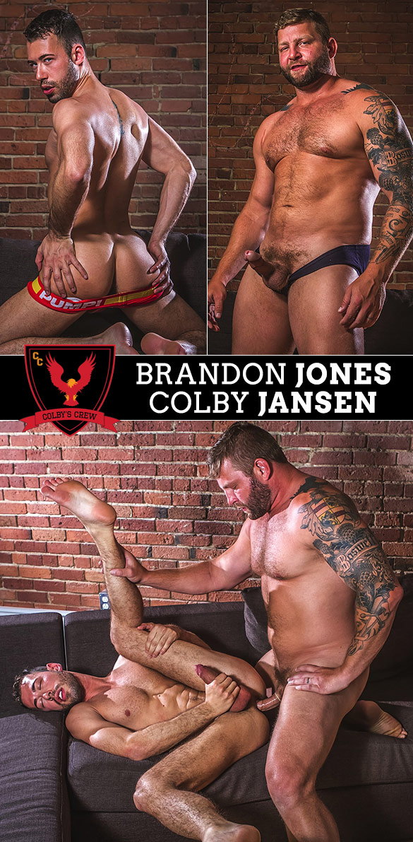 "Colby's Crew: Colby Jansen fucks Brandon Jones in ""He Shoots, He Scores!"""