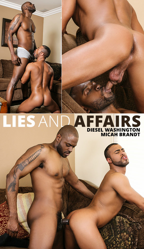 "Men.com: Diesel Washington slams Micah Brandt in ""Lies and Affairs"""