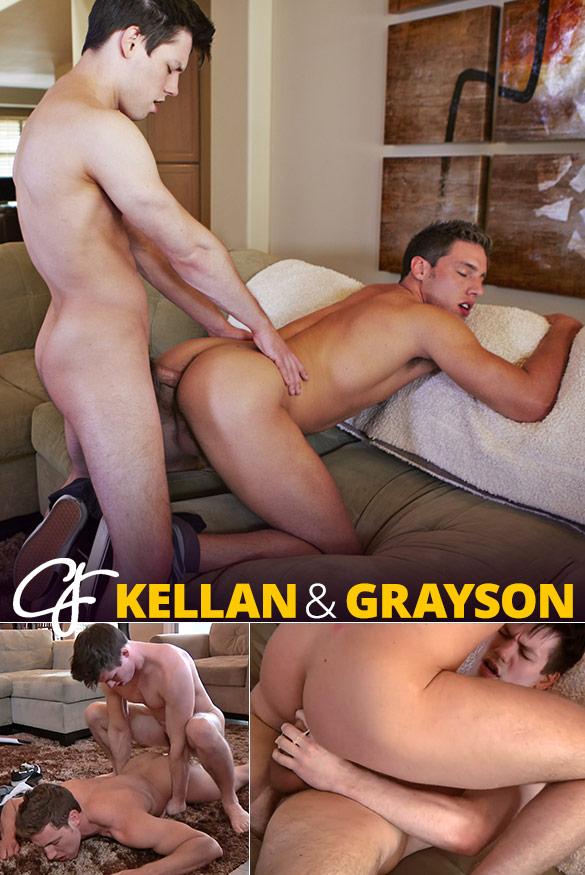 Corbin Fisher: Kellan fills Grayson's hole