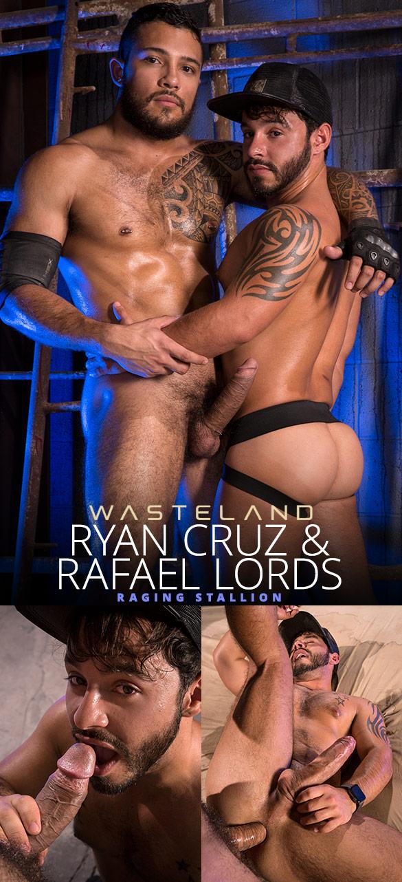 "Raging Stallion: Ryan Cruz fucks Rafael Lords in ""Wasteland"""