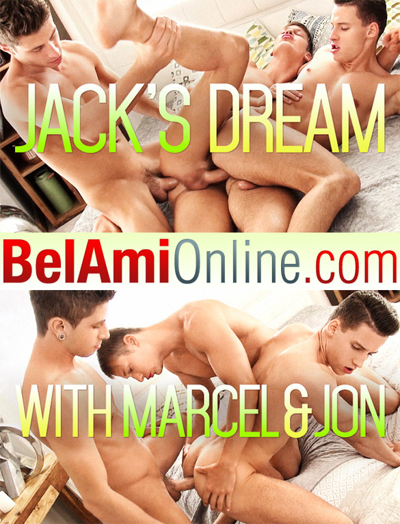 BelAmi: Jack Harrer, Marcel Gassion and Jon Kael's hot bareback threesome