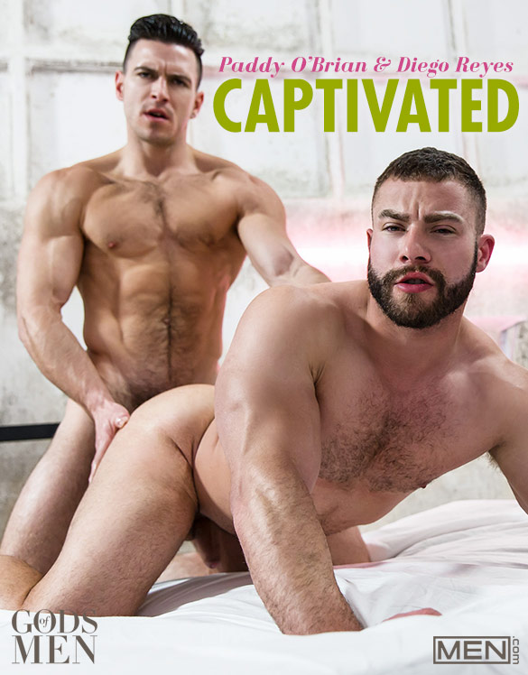 "Men.com: Paddy O'Brian fucks Diego Reyes in ""Captivated"""