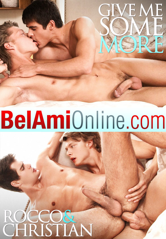 BelAmi: Rocco Alfieri and Christian Lundgren fuck raw (Part 2)