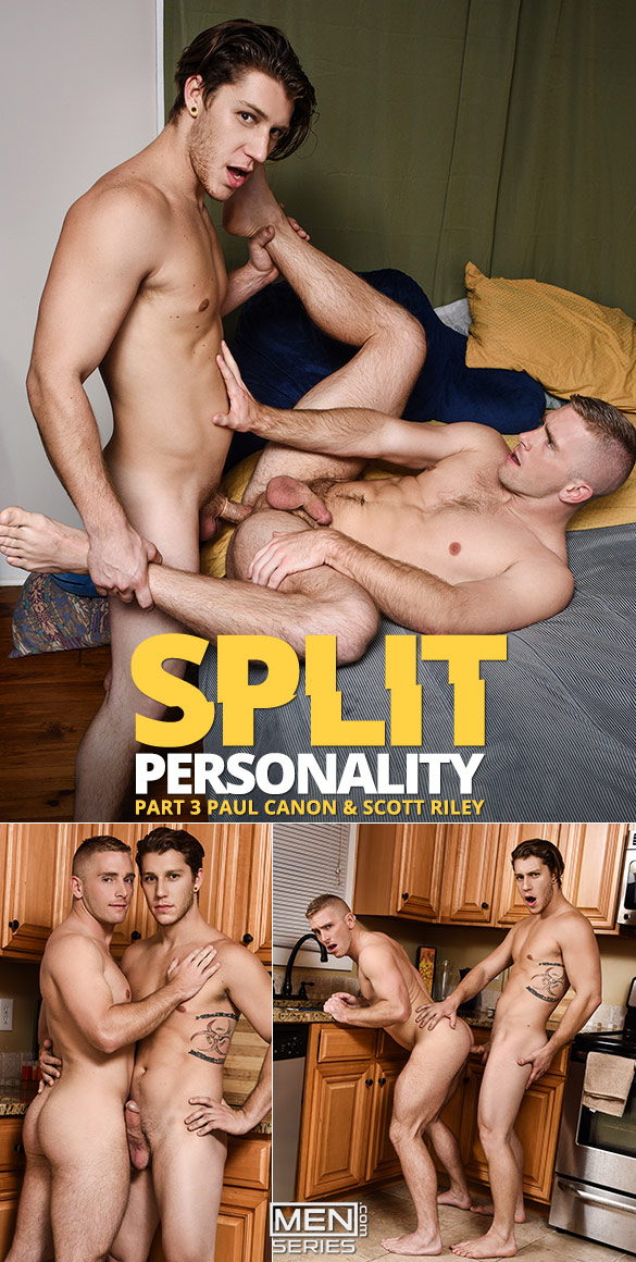 "Men.com: Paul Canon fucks Scott Riley in ""Split Personality, Part 3"""