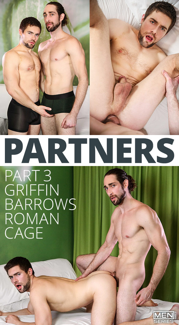 "Men.com: Roman Cage fucks Griffin Barrows in ""Partners, Part 3"""