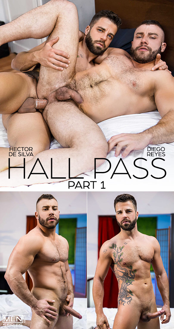 "Men.com: Hector de Silva fucks Diego Reyes in ""Hall Pass, Part 1"""