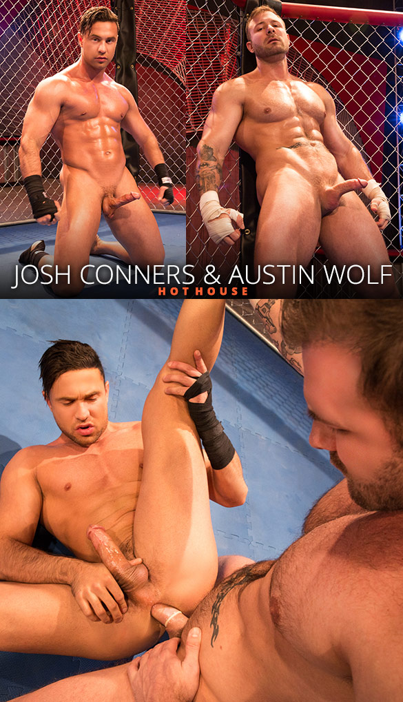 "HotHouse: Austin Wolf bangs Josh Conners in ""TKO Total Knockouts"""