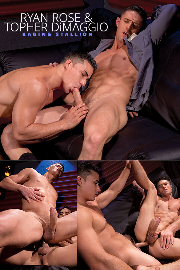 Raging Stallion: Ryan Rose bottoms for Topher DiMaggio