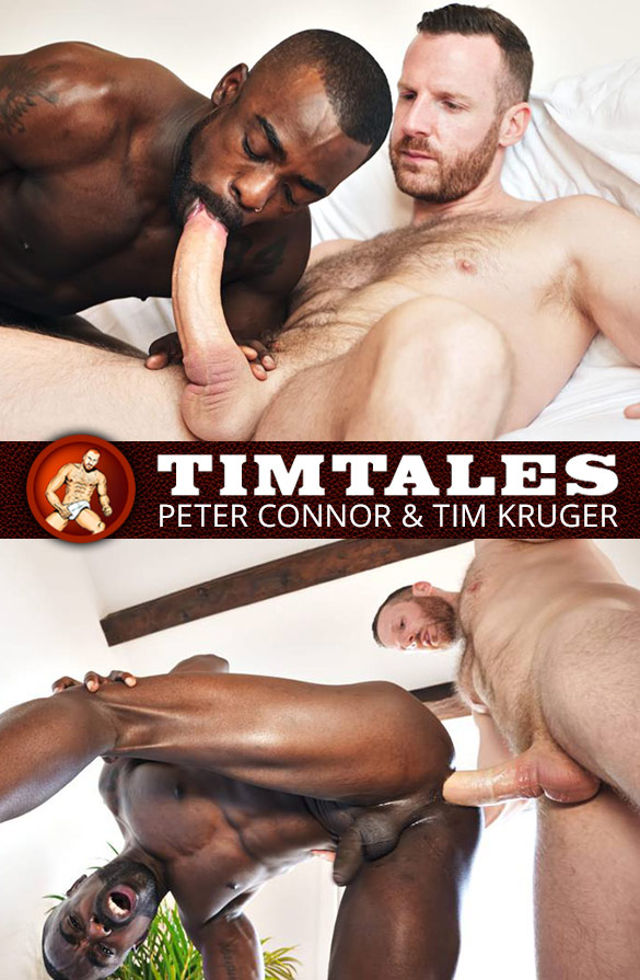 TimTales: Peter Connor rides Tim Kruger's big dick