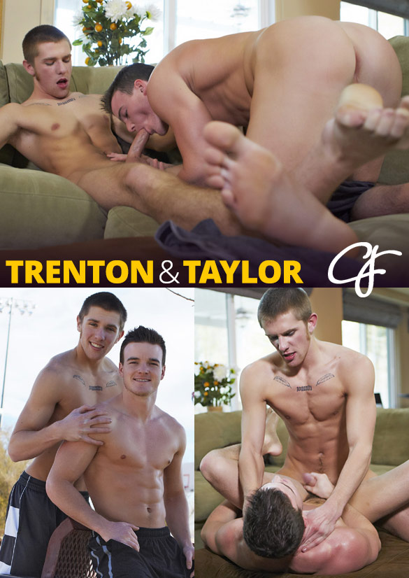 Corbin Fisher: Trenton tops Taylor bareback