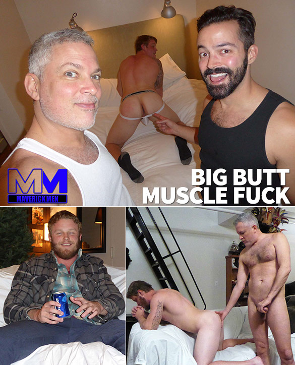 "MaverickMen: Sean gets fucked raw in ""Big Butt Muscle Fuck"""
