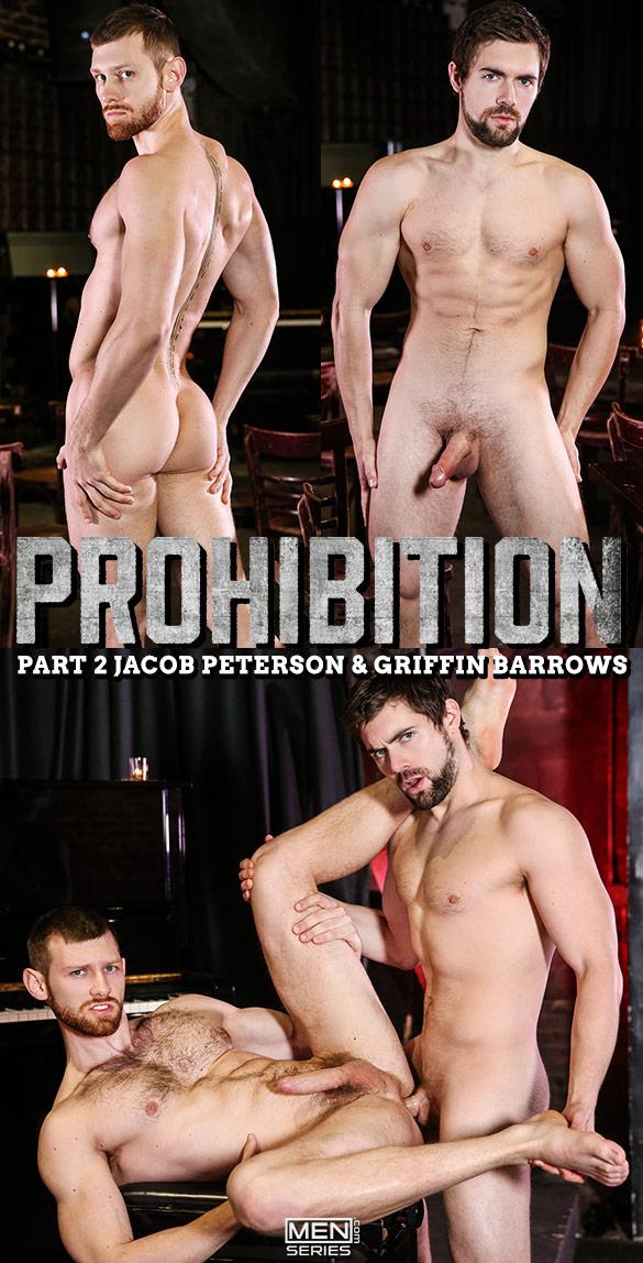 """Men.com: Griffin Barrows fucks Jacob Peterson in """"Prohibition, Part 2"""""""