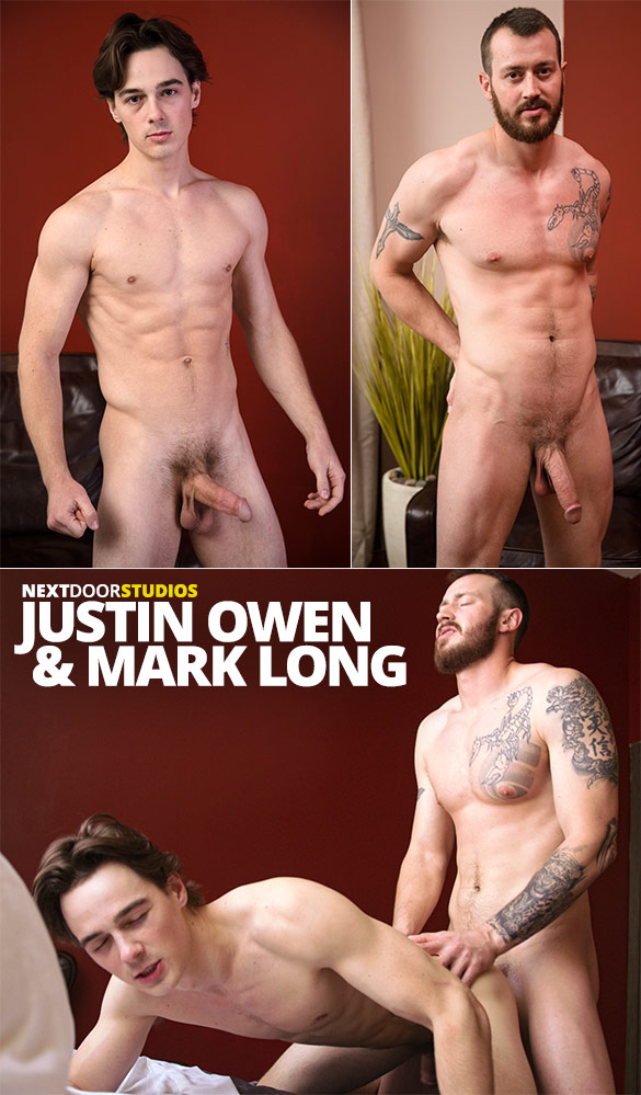 Next Door Studios: Mark Long fucks Justin Owen