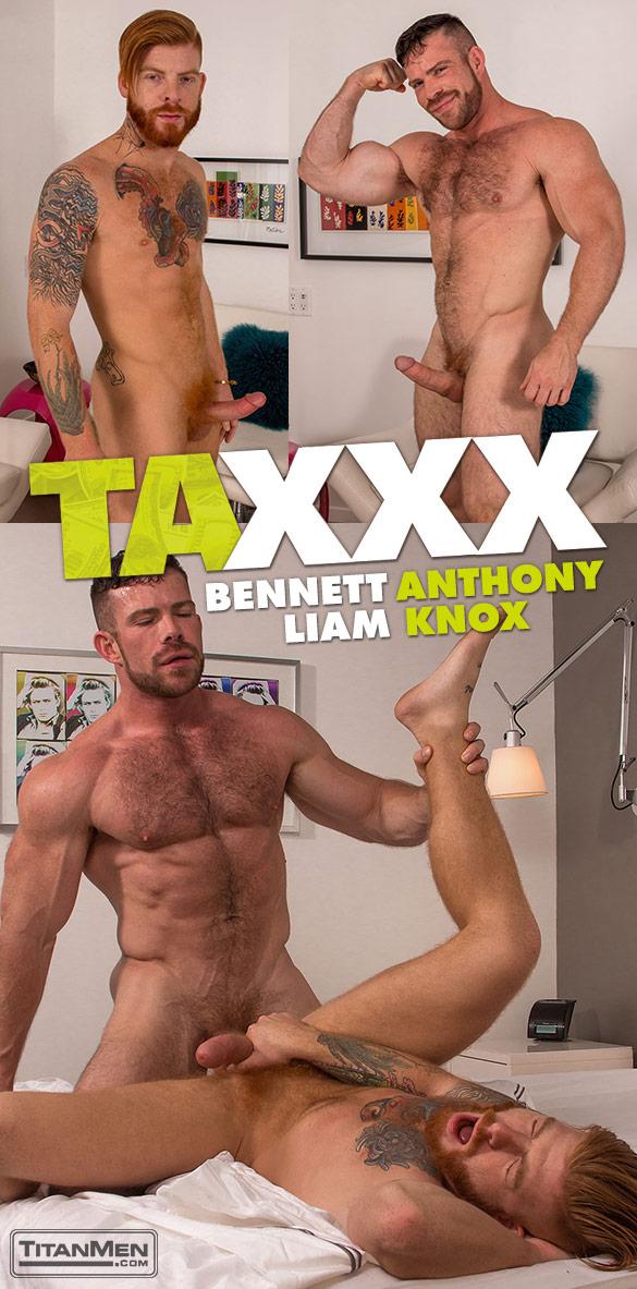 """TitanMen: Liam Knox bangs Bennett Anthony in """"Taxxx"""""""