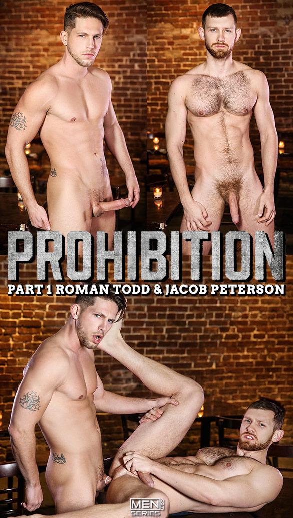"Men.com: Roman Todd fucks Jacob Peterson in ""Prohibition, Part 1"""